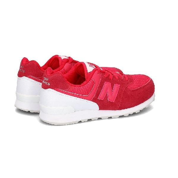 Tênis-New-Balance-Rosa/Branco---KL574C0G