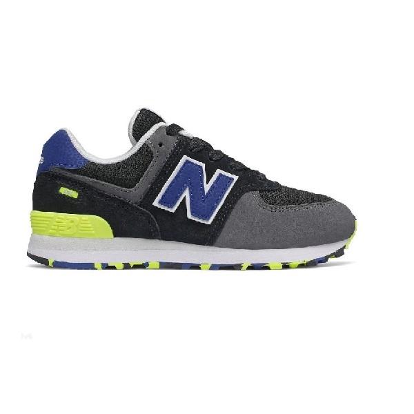 Tênis-New-Balance-Preto/Azul/Branco---PC574UJC