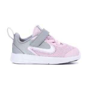 Tênis-Nike-Downshifter-9-Pink/Branco/Metalico---AR4137-601----------------------------------------