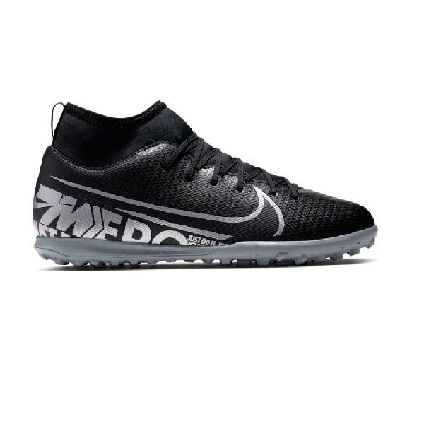 Chuteira-Society-Nike--Superfly-Preto/Cinza-AT8156-001