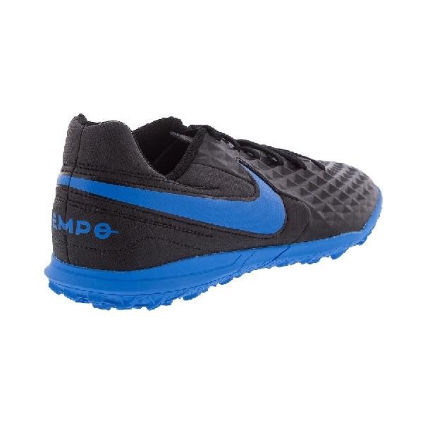 Chuteira-Society-Nike-Legend-8-Preto/Azul-AT6109-004