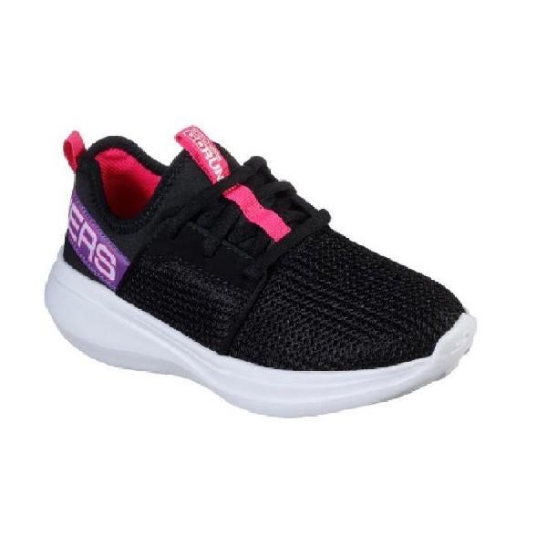 Tênis-Skechers-GOrun-Fast-Preto/Pink-85400L-BKPR