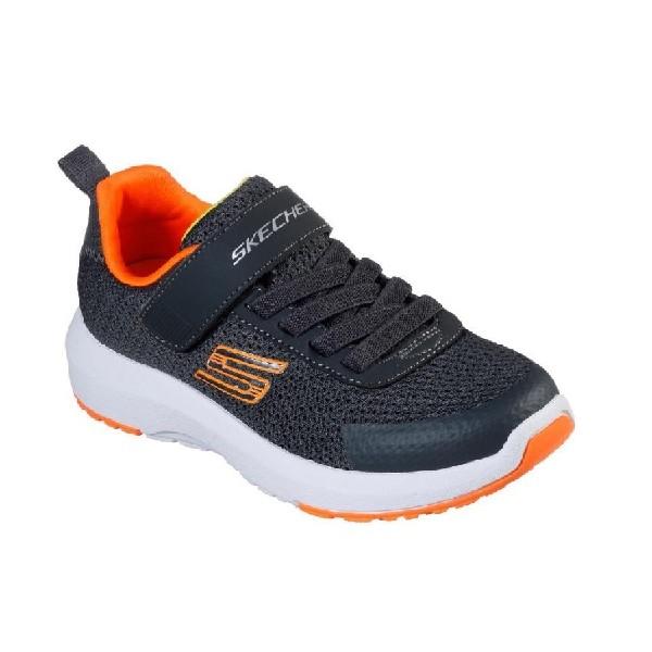 Tênis-Skechers-Dynamic-Tread-Carvão/Laranja---98151L-CCOR