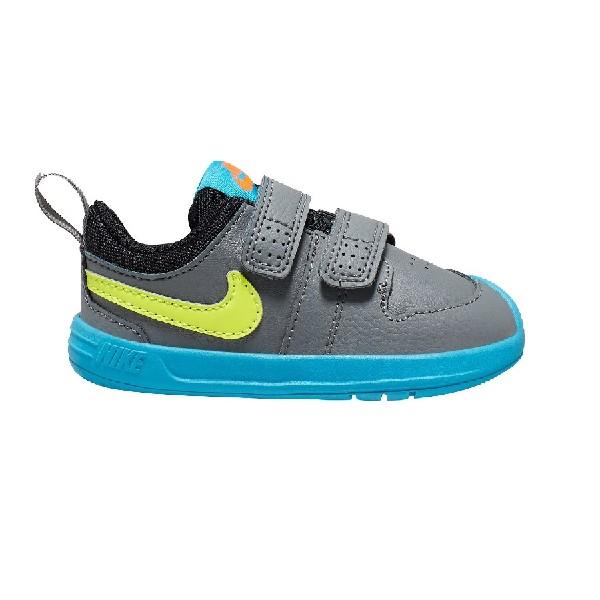 Tênis-Nike-Pico-5-Cinza/Limão/Azul---AR4162-074