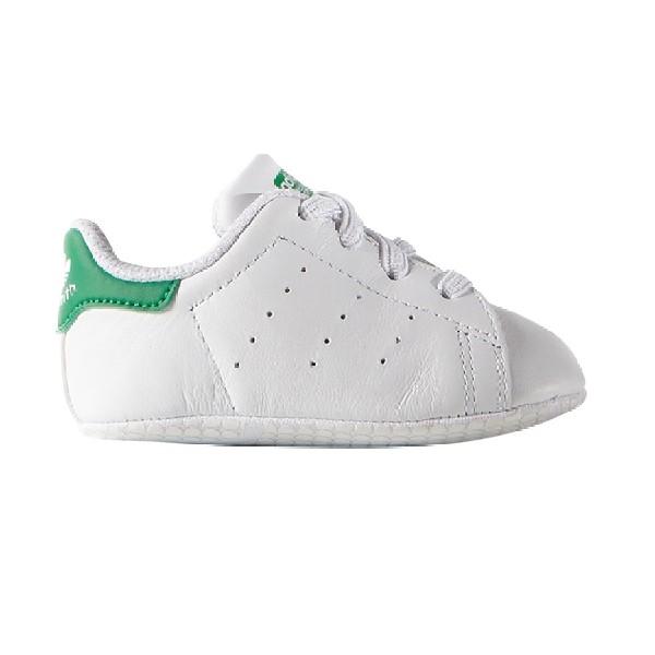 Tênis-Adidas-Stan-Smith-Bebê--Branco/Verde---B24101-