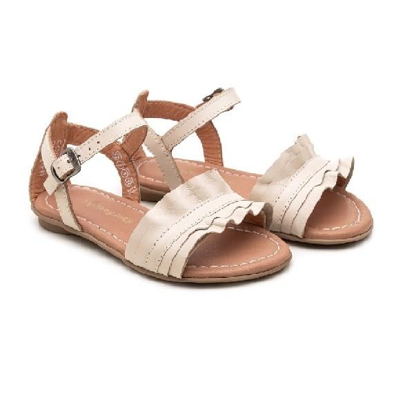 Sandália-Tip-Toey-Litte-Ruffe-Tapioca---T.RUF1-2270