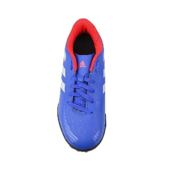 Chuteira-Society--Adidas--Azul/Prata/Vermelho---F36084