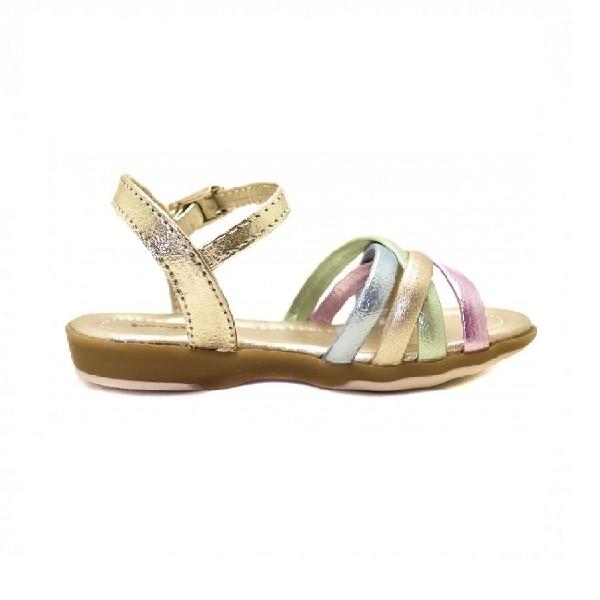 Sandália-Pampili-Bebê-Dourado/Colorido---60502-