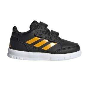 Tênis-Adidas-AltaSport--Preto/Amarelo---G27107