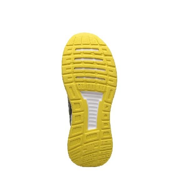 Tênis-Adidas-Runfalcon-Preto/Amarelo/Amarelo---F36544