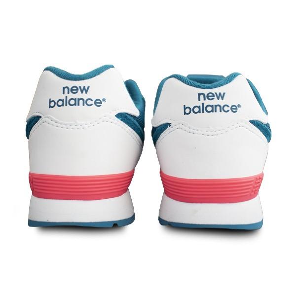 Tênis-New-Balance-Turquesa/Branco/Rosa---KL574CJG
