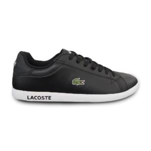 Tênis-Couro-Lacoste-Preto/Branco---SPM0299