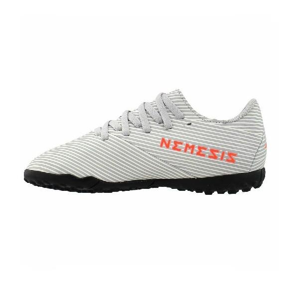 Chuteira-Adidas-Society--Nemeziz--Cinza/Laranja---EF8306