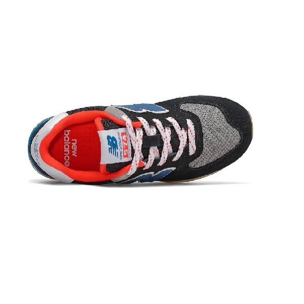 Tênis-New-Balance-Preto/Laranja/Azul---PC574SOV