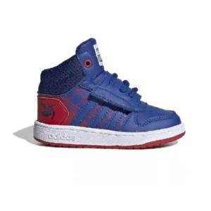 Tênis-Adidas-Hoops-mid-2.0-Spiderman-Scarlet/Azul/Branco---EG7902