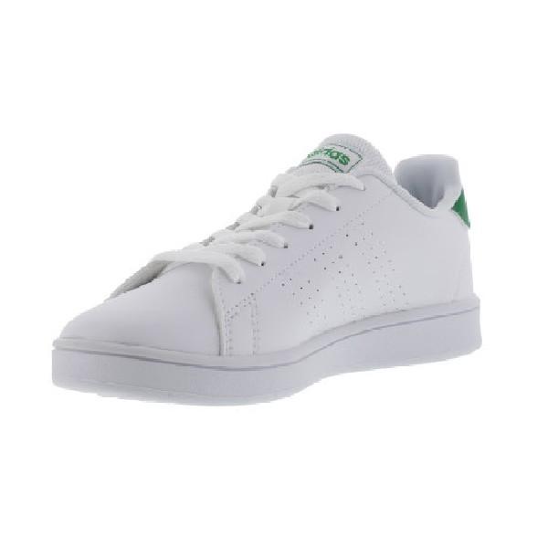 Tênis-Adidas-Advantage-Branco/Verde---EF0213