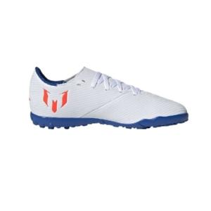 Chuteira-Society-Adidas-Nemeziz-Messi-Branco/Vermelho-/Azul---F99929