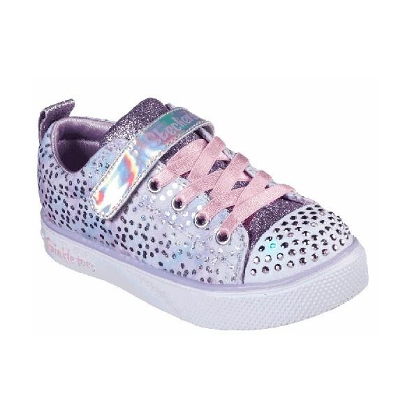 Tênis-Skechers-Little-Girl-S-Lights--Lilás-20304L-LVPK
