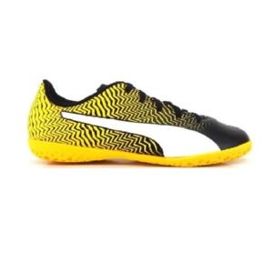 Chuteira-Puma-Futsal-Rapido-II--Preto/Amarelo---106064-01