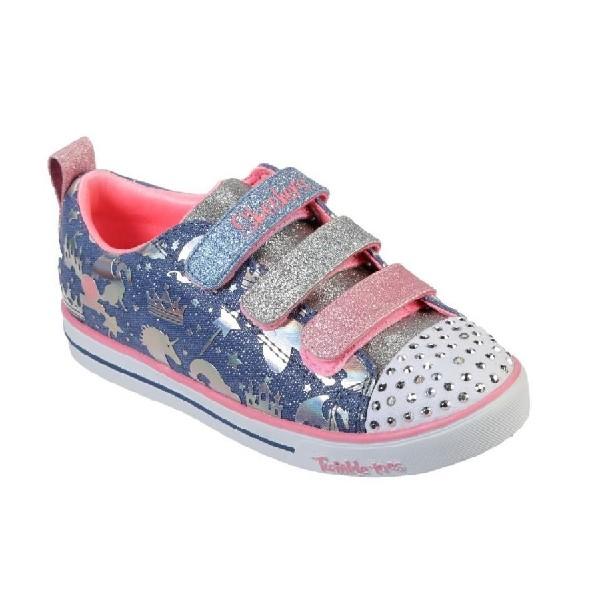Tênis-Skechers-Sparkle-Lite---Pink/Azul-20274L-LBMT