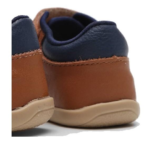 Mocassim-Couro-Ortopé-Infantil-Velcro-Ambar/Marinho---2196030