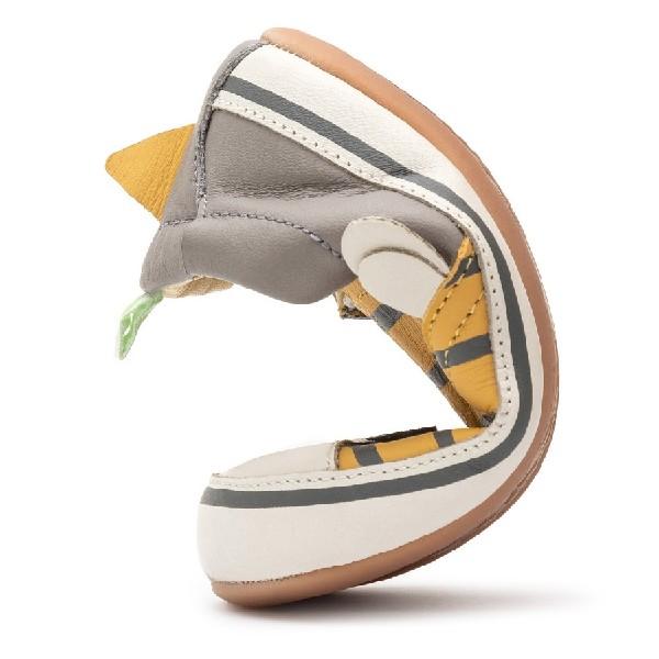 Tênis-Tip-Toey-Slip-On-Honey-Bee-Pequi/Tapioca/Aluminium---B.HNB1S-4080