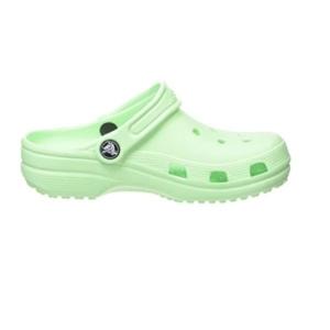 Sandália-Crocs-Classic-Clog-K--Limão--204536