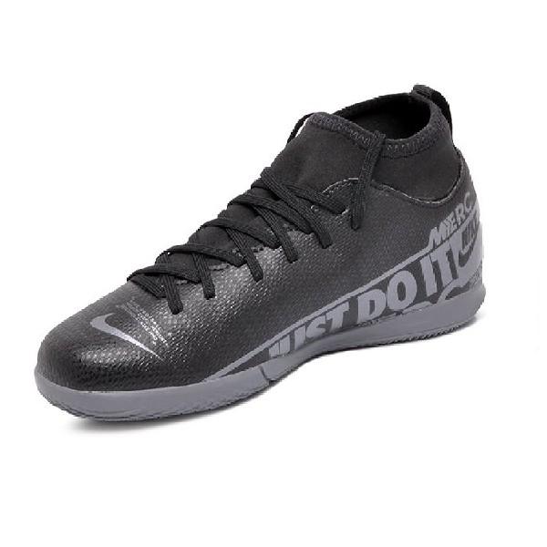 Chuteira-Futsal-Nike-Mercurial-Superfly-Preto/Cinza--AT8153-001