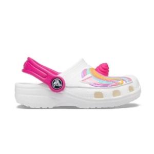 Sandália-Crocs-Classic-Fun-Lab-Unicorn-Clog--White---207074