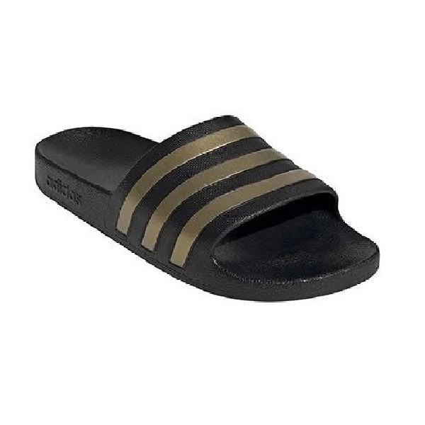 Slide-Adidas-Adilette-Aqua-Preto/Dourado---EG1758