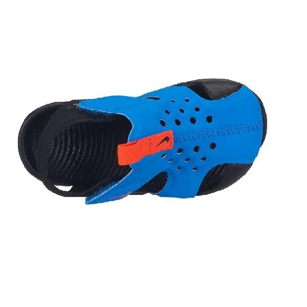 Sandália-Nike-Sunray-Protect-2-Azul/Preto---943827-400