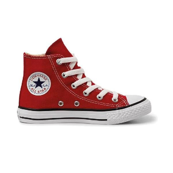 Tênis-Cano-Longo-All-Star-Chuck-Taylor-Vermelho/Cru/Preto---CK00040004--