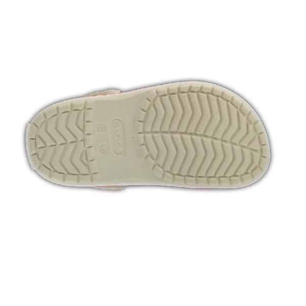 Sandália-Crocs-Clássica-Stucoo/Melon-(Bege)----10998
