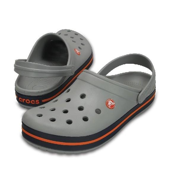 Sandália-Crocs-Crocband-Light-Grey/Navy---11016