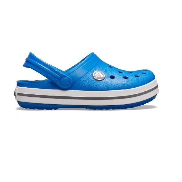 Sandália-Crocs-Crocband-Clog-K-Bright-Cobal/Charcoal---204537-4JN