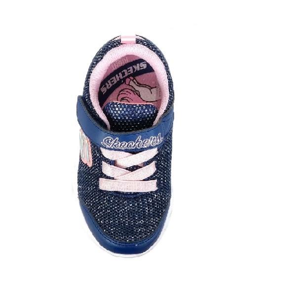 Tênis-Skechers-Comfy-Flex-Moving-Pink/Marinho-302107N-NVPK